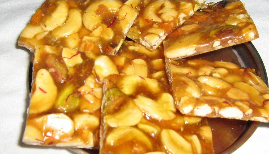 Low fat chikki